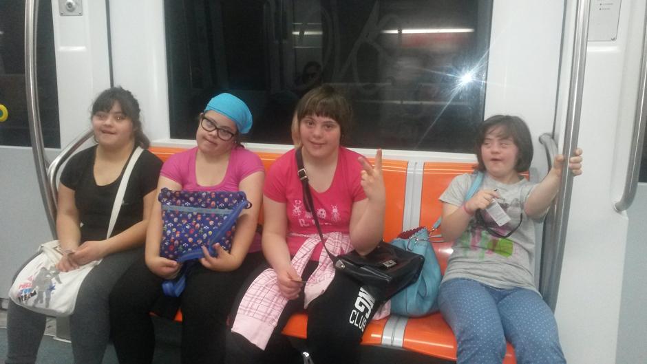 Corso Educazione Autonomia per persone con Sindrome di Down - mezzi pubblici